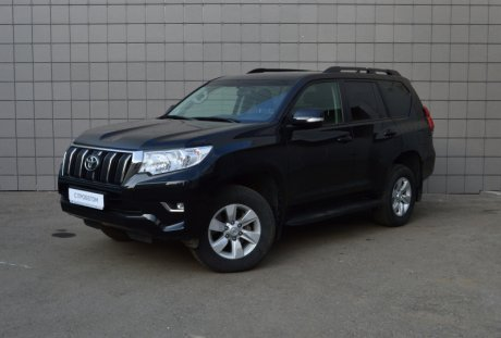 Toyota Land Cruiser Prado 2017 года с пробегом 70 049 км